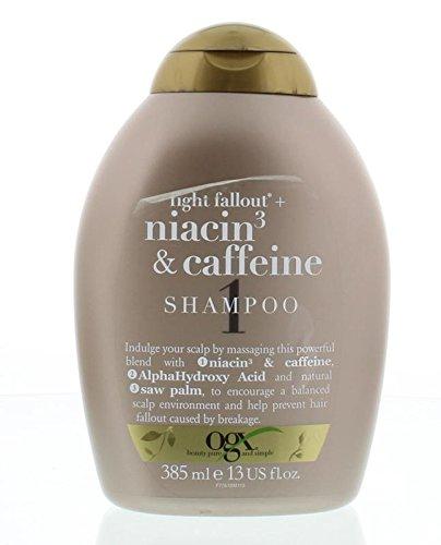 OGX Anti-Hair Fallout with Niacin and Caffeine Shampoo, 385 ml