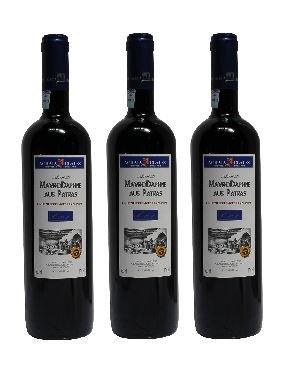 3x Mavrodaphne Rot Imperial Mavrodafne aus Patras Griechenland a 750 ml 15% Vol. Dessertwein roter Likörwein griechischer Rotwein Rot Wein Likör + 1 Probier Sachets Olivenöl aus Kreta a 10 ml