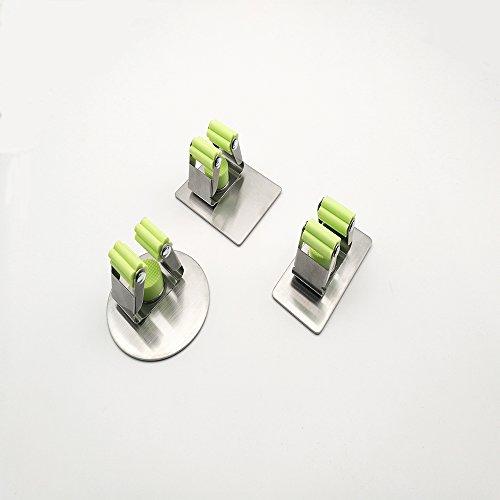r Gerätehalter Wandhalter aus Edelstahl,Bad Küche Organizer Rack mit 3M Selbstklebend für Zuhause, Bad, Schrank, Garage (Golf-garage Organizer)