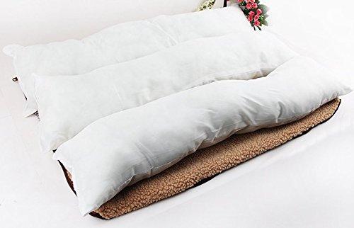 Komia Hundebett für Hund Outdoor Indoor 95cm X 60cm Hundebett Square Bett für hunde Beseitigung Falsche Sherpa - 6