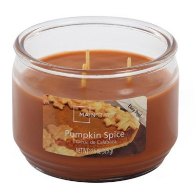 Pumpkin Vela Perfumada Gr Mainstays Spice326 H2D9YWEI