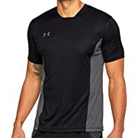 Under Armour Challenger II Training Top Camiseta de Manga Corta, Hombre, Negro (001), L