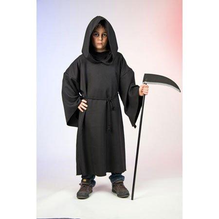 Kinder Kostüm Henker Robe Kutte Größe 164 bis 176