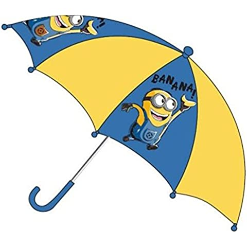 Minions Niños paraguas Bastón pantalla