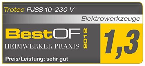 TROTEC Stichsäge PJSS 10-230V Pendelhubstichsäge inklusive Stichsägeblätter-Set Metall (10-teilig) - 7