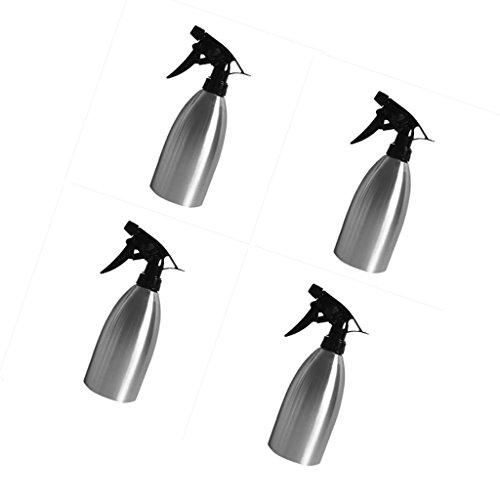Homyl 4x500ml Wiedernachfülle Sprühflasche Spray Bottle Zerstäuber Aufbewahrung für Wasser Aceton und Alkohol