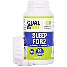 Melatonina con vitamina B6 para contribuir a dormir de forma reparadora – Comprimidos masticables de melatonina