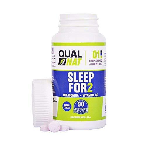 Melatonina ✔️Vitamina B6 ✔️ Ayuda a Dormir ✔️ 90 comprimidos masticables