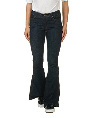 dr-denim-jeansmakers-womens-macy-womens-flared-jeans-in-blue-in-size-xs-l32-blue