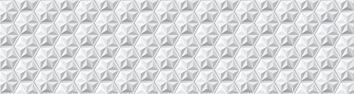 Laroom Alfombra Vinílica de Pasillo Diseño Origami, Vinilo Antilisca