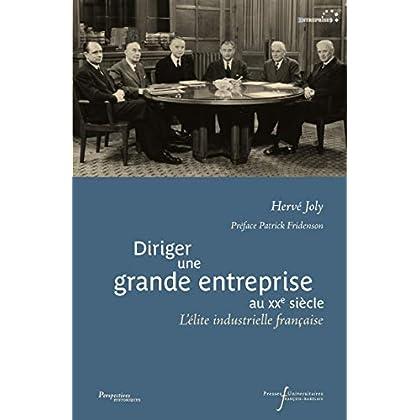 Diriger une grande entreprise au XXe siècle: L'élite industrielle française (Perspectives Historiques)