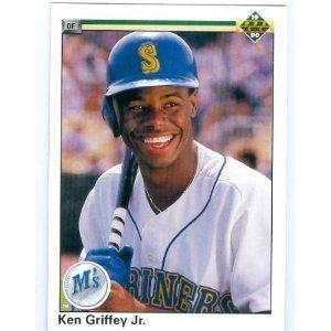 Mint Ken Griffey Jr. baseball card 1990 Upper Deck #156 (Seattle Mariners) by Upper Deck