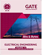 GATE Practice Booklet 1116 Expected Questions with solutions for Electrical Engineering Volume 2