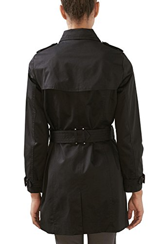 ESPRIT Damen Mantel Schwarz (Black 001)