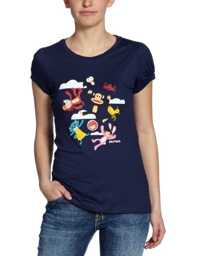 paul-frank-t-shirt-jump-around-souffle-xs-bleu-bleu-marine