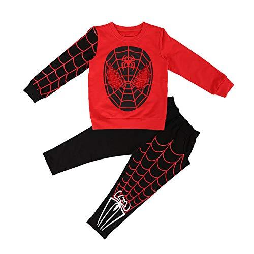 ZGCP Halloween Kostüm Kinder Spiderman Kleidung Altman
