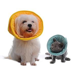 cercle Elizabeth, fournitures pour animaux de compagnie, pour empêcher les animaux domestiques de toucher la blessure Protéger les chiens et les chats