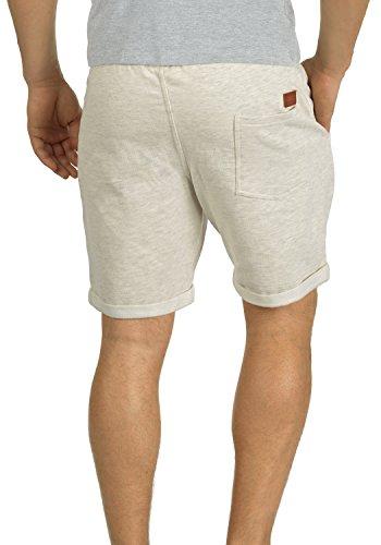 BLEND Timo Herren Sweatshorts kurze Hose Sport-Shorts aus hochwertiger Baumwollmischung Slim fit Stretch Sand Mix (70810)
