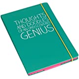 "Happy Jackson A5 ""Thoughts & Doodles"" Notebook - Green"
