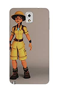 MiiCreations 3D Printed Back Cover for Samsung Galaxy Note 3,Cartoon