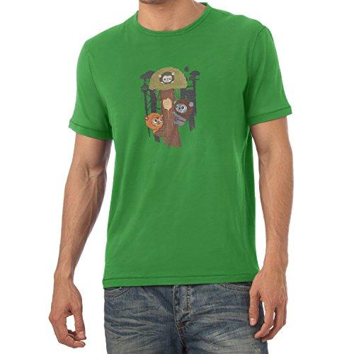 TEXLAB - Ewok Community - Herren T-Shirt Grün
