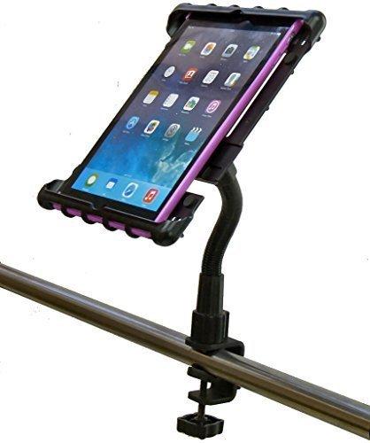 """Buybits Heavy Duty C-Klemmen Crosstrainer Laufband Fitnessstudio Tablet-Halter Halter für Apple Ipad 9.7 \"""" 6. Gen"""