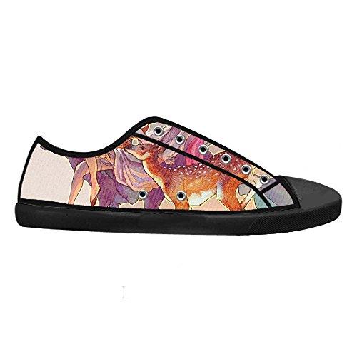Dalliy kunst hirsch Men's Canvas shoes Schuhe Footwear Sneakers shoes Schuhe A