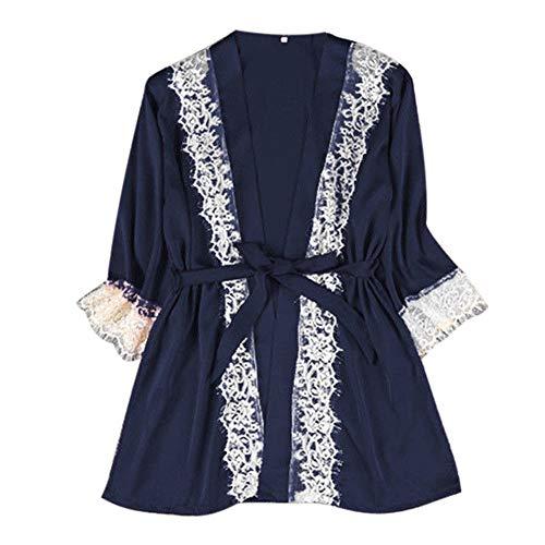 Frauen Sexy Unterwäsche, LEORTKS Frauen Sexy Satin Silk Nachtwäsche Pyjamas Nachthemd Dessous Nachtkleid Female Rayon Mesh Dessous-Slips Bodysuit