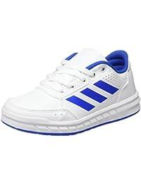 adidas AltaSport K - Zapatillas de deportepara niños, Blanco - (FTWBLA/AZUL/FTWBLA), 3