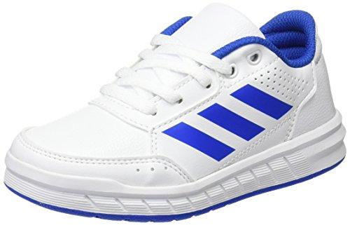 new arrivals c3de0 20e39 adidas Altasport Cf, Chaussures de Fitness Fille, Blanc Rose blanc bleu