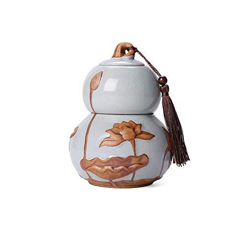 Boîtes à thé AUGAUST en céramique La Conception en Forme de palan Peut séparer Les Parties supérieure et inférieure (Couleur : C, Taille : L)