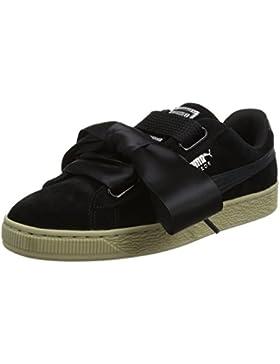 Puma Damen Suede Heart Safari Sneaker