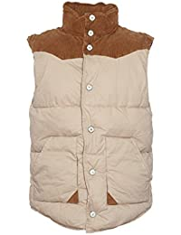 Selected - Herren Beige Steppweste