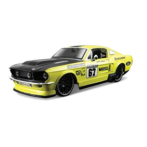 ford-mustang-gt-1967-124-diecast-kids-fun-play-toy-sports-car-assorted-colours