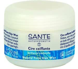 Santé-SANsacire-cire coiffante brillance naturelle BIO-50ml