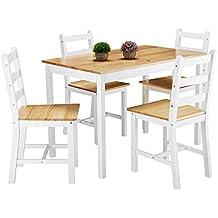 mesas comedor con sillas baratas - Amazon.es