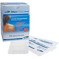 HÖGA-DERM steriles Pflaster 70x100 mm 50 St Pflaster preisvergleich bei billige-tabletten.eu