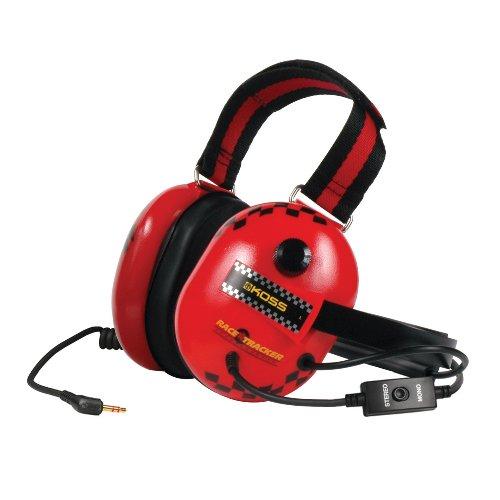 Koss Race Tracker Stereo Over-Ear Kopfhörer mit Rauschunterdrückung - Rot/Schwarz thumbnail