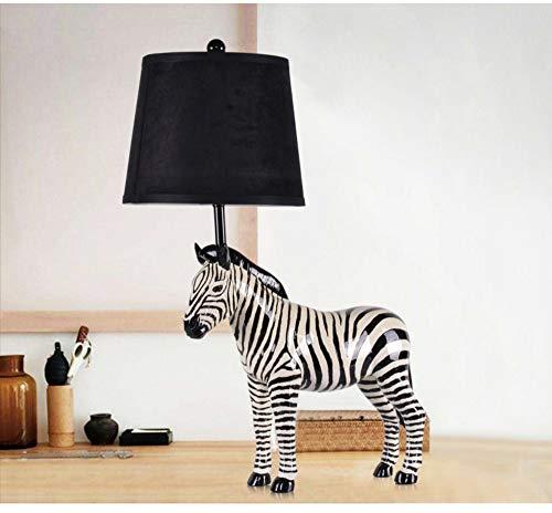 (Hauptbeleuchtung Zebra Tischlampe Modell Zimmer Lampe Wohnzimmer Studie Schlafzimmer Nachttischlampe dekorative Tischlampe)