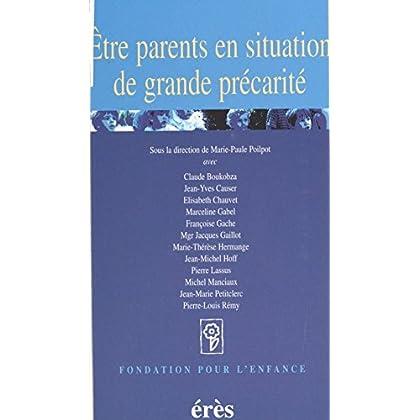 Être parents en situation de grande précarité (Fondation pour l'enfance)