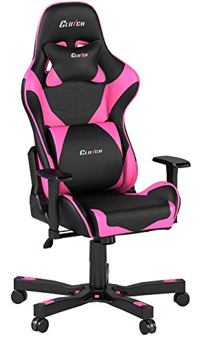 Kupplung chairz Premium Gaming/Computer Stuhl, schwarz & Rosa, 1er Pack