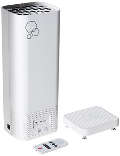 Hextio Compact Air Purifier and Sterilizer   Eliminates Harmful Allergen Allergies, NO2 Gas, Viruses, Mold, Dust and Odors - Perfect for Home or Workplace Covers 215 Square Feet