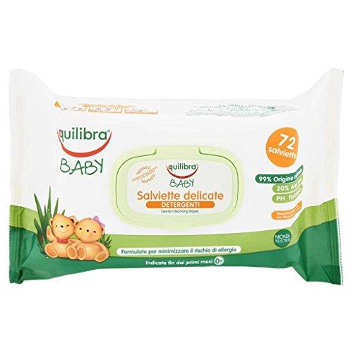 baby saviette delicate detergenti 72 salviettine
