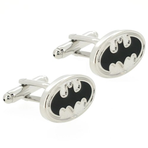 Ss Batman Black and Silver Cufflinks  available at amazon for Rs.999