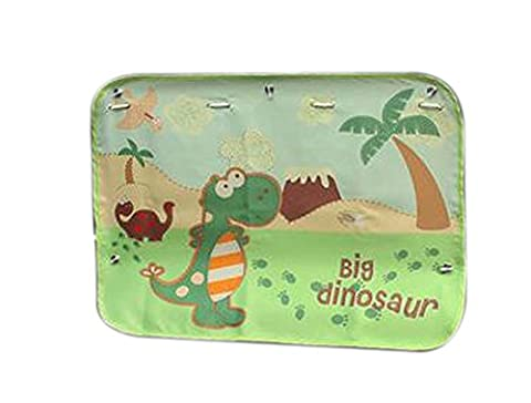Set of 2 Car Curtains Creative Sunshades Curtains Sunshades, Big Dinosaur