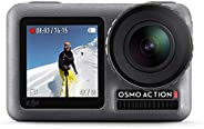 DJI OSMO Action Camera (Black) | Dual Screen | 12 MP Camera | Recording Upto 4K 60 FPS Recording | Fast Mode U
