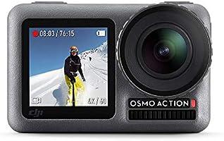 DJI Osmo Action Cam Digitale actiecamera met 2 schermen 11 m waterdicht 4K HDR-video 12MP 145° hoeklens camera zwart