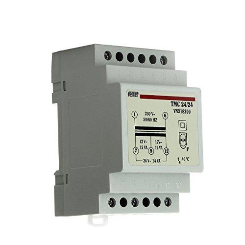 Trasformatore modulare di sicurezza TMC 24/24 con doppio isolamento Vemer