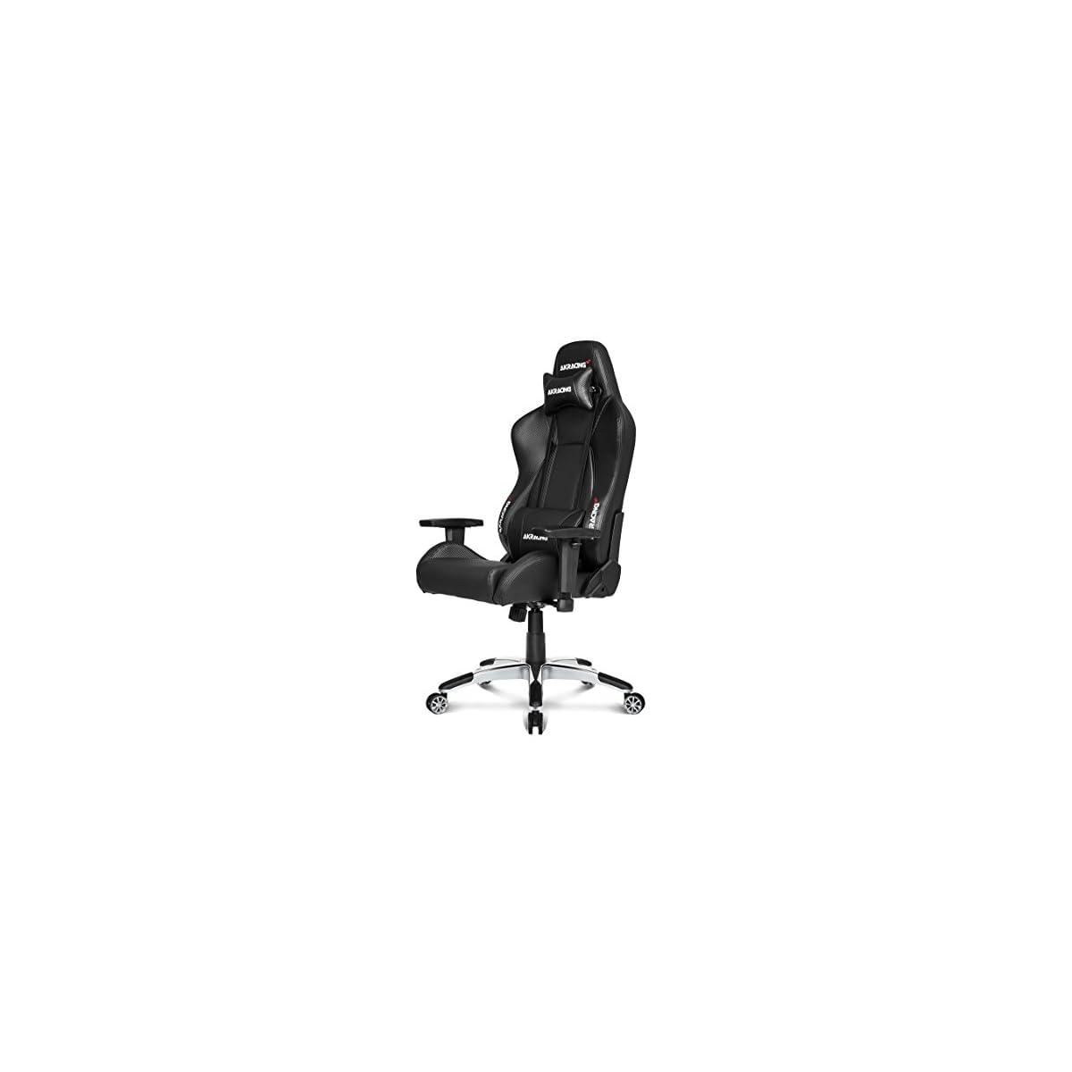 41Cy0 gfo%2BL. SS1200  - AKRacing Premium V2 - AK-7002-CB - Silla Gaming, Color Negro Carbono
