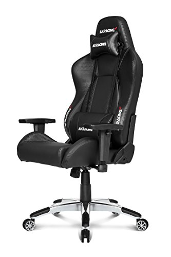 AKRacing Premium V2 - AK-7002-CB - Silla Gaming, Color Negro Carbono